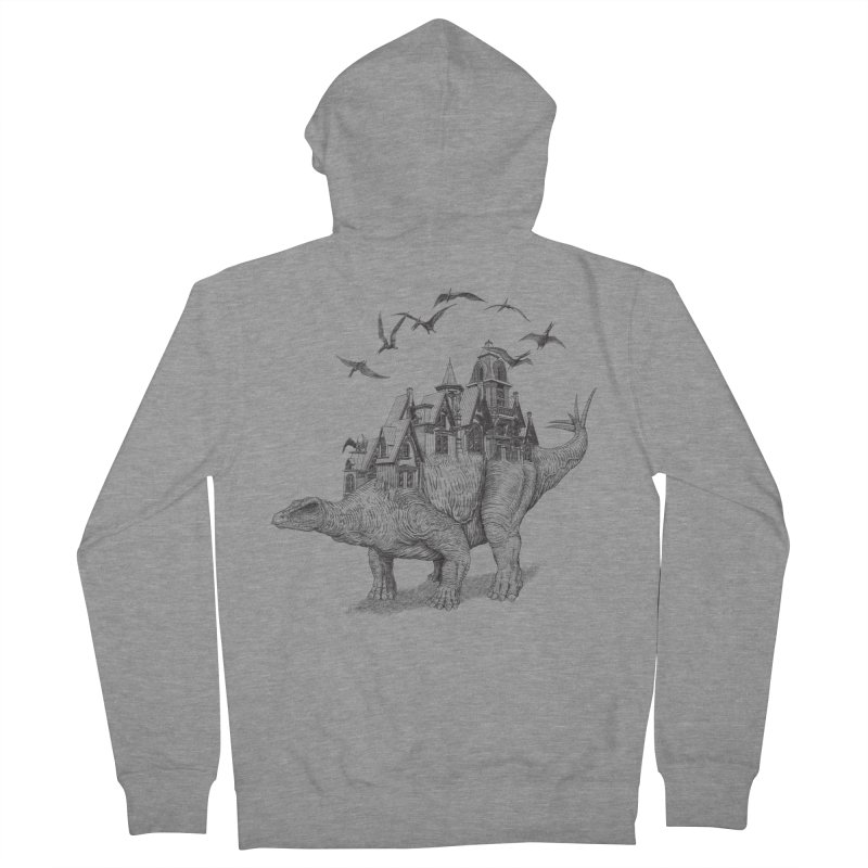 Stegoland Men's Zip-Up Hoody by Windville's Artist Shop
