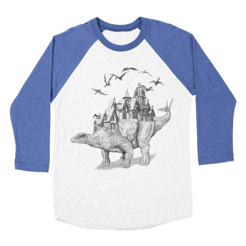 Stegoland Men's Baseball Triblend T-Shirt by Windville's Artist Shop