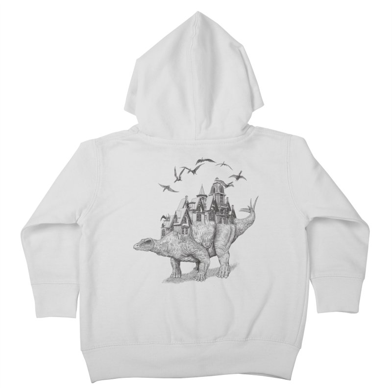 Stegoland Kids Toddler Zip-Up Hoody by Windville's Artist Shop