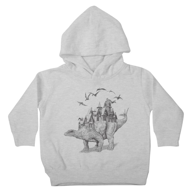 Stegoland Kids Toddler Pullover Hoody by Windville's Artist Shop