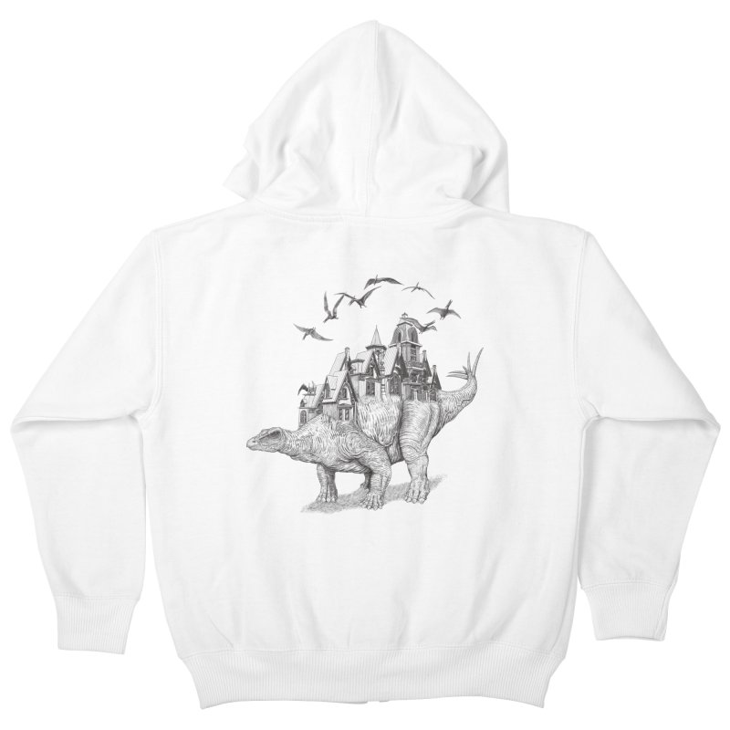 Stegoland Kids Zip-Up Hoody by Windville's Artist Shop