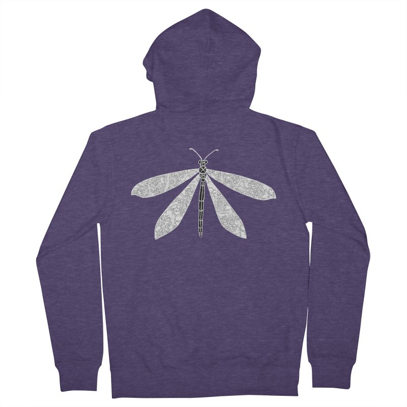 Antlion Men's French Terry Zip-Up Hoody by sand paper octopi's Artist Shop