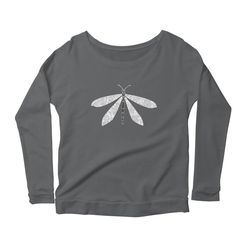 Antlion Women's Scoop Neck Longsleeve T-Shirt by sand paper octopi's Artist Shop