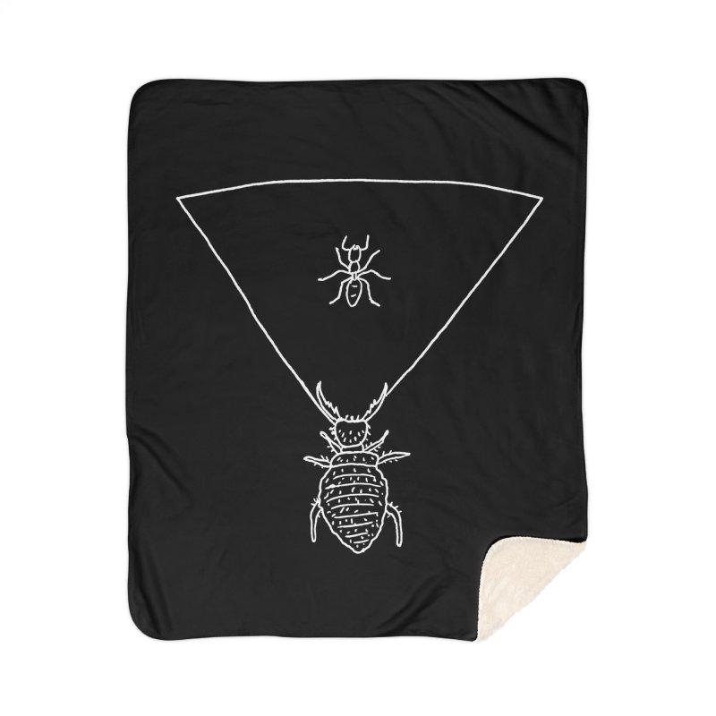 Doodlebug Home Sherpa Blanket Blanket by sand paper octopi's Artist Shop