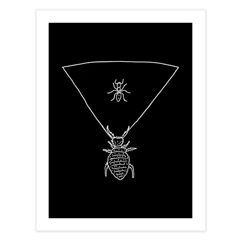 Doodlebug Home Fine Art Print by sand paper octopi's Artist Shop