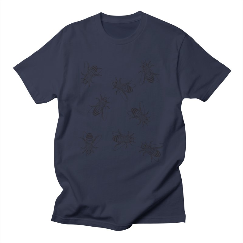 Honeybees Women's Regular Unisex T-Shirt by sand paper octopi's Artist Shop