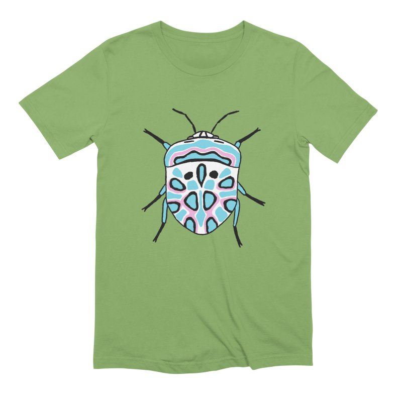 Picasso Bug Men's Extra Soft T-Shirt by sand paper octopi's Artist Shop