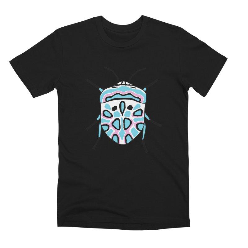 Picasso Bug Men's Premium T-Shirt by sand paper octopi's Artist Shop