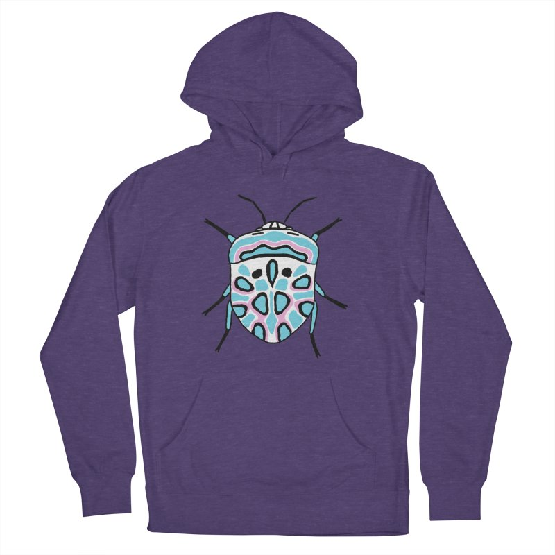 Picasso Bug Women's French Terry Pullover Hoody by sand paper octopi's Artist Shop
