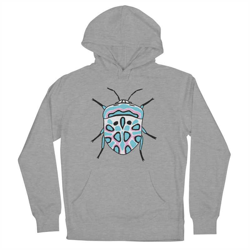 Picasso Bug Men's French Terry Pullover Hoody by sand paper octopi's Artist Shop