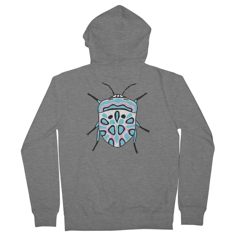 Picasso Bug Women's French Terry Zip-Up Hoody by sand paper octopi's Artist Shop