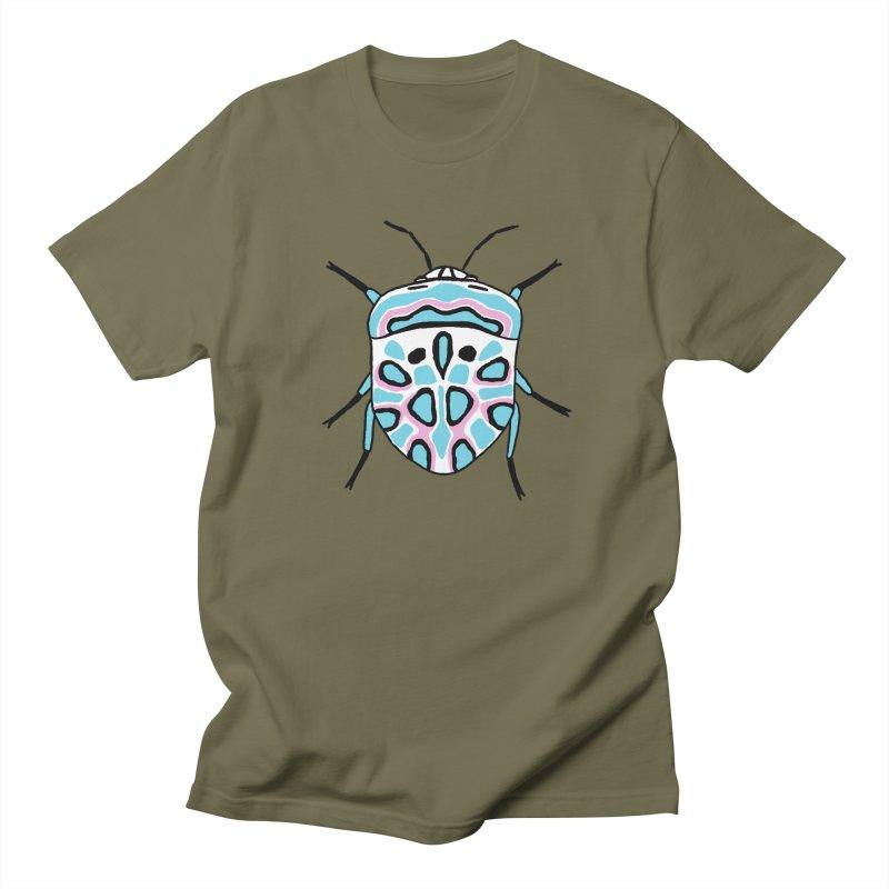 Picasso Bug Men's Regular T-Shirt by sand paper octopi's Artist Shop