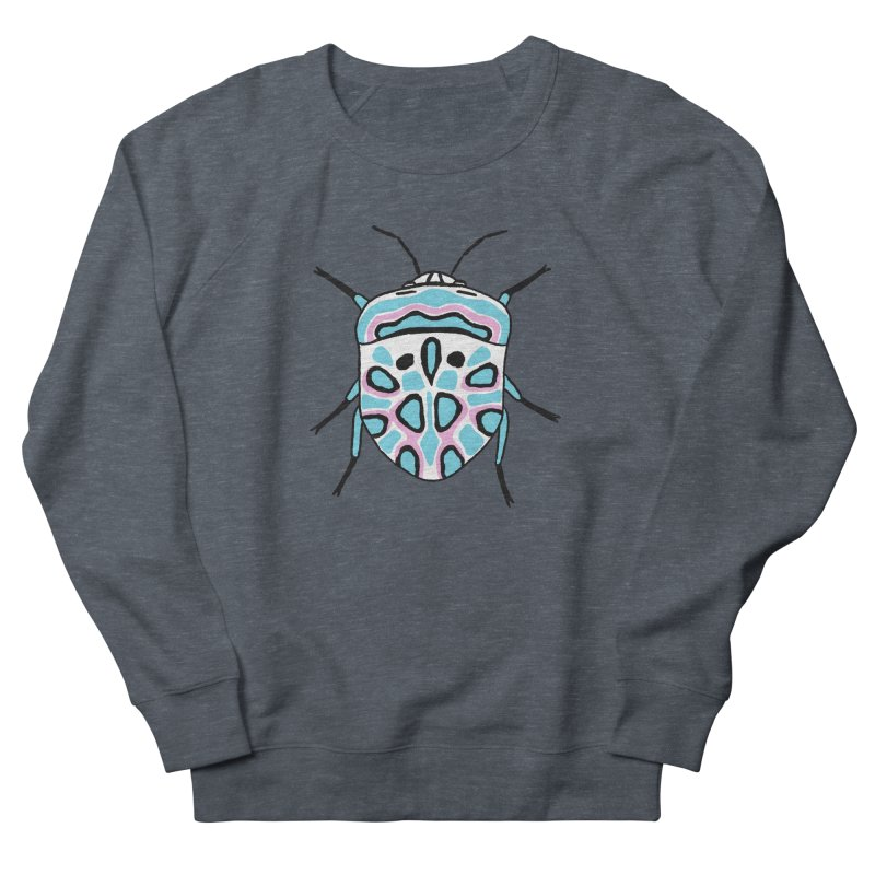 Picasso Bug Men's French Terry Sweatshirt by sand paper octopi's Artist Shop