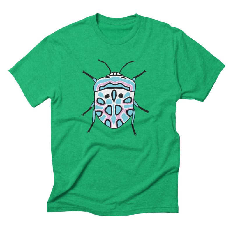 Picasso Bug Men's Triblend T-Shirt by sand paper octopi's Artist Shop