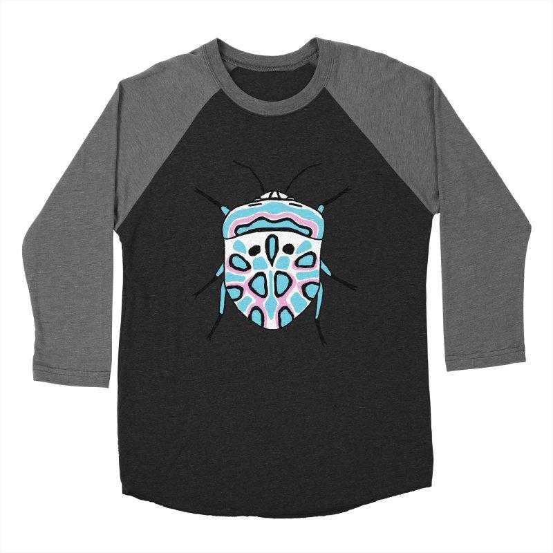 Picasso Bug Men's Baseball Triblend Longsleeve T-Shirt by sand paper octopi's Artist Shop