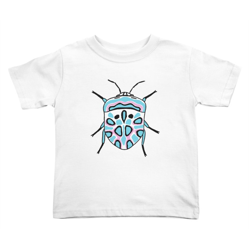 Picasso Bug Kids Toddler T-Shirt by sand paper octopi's Artist Shop