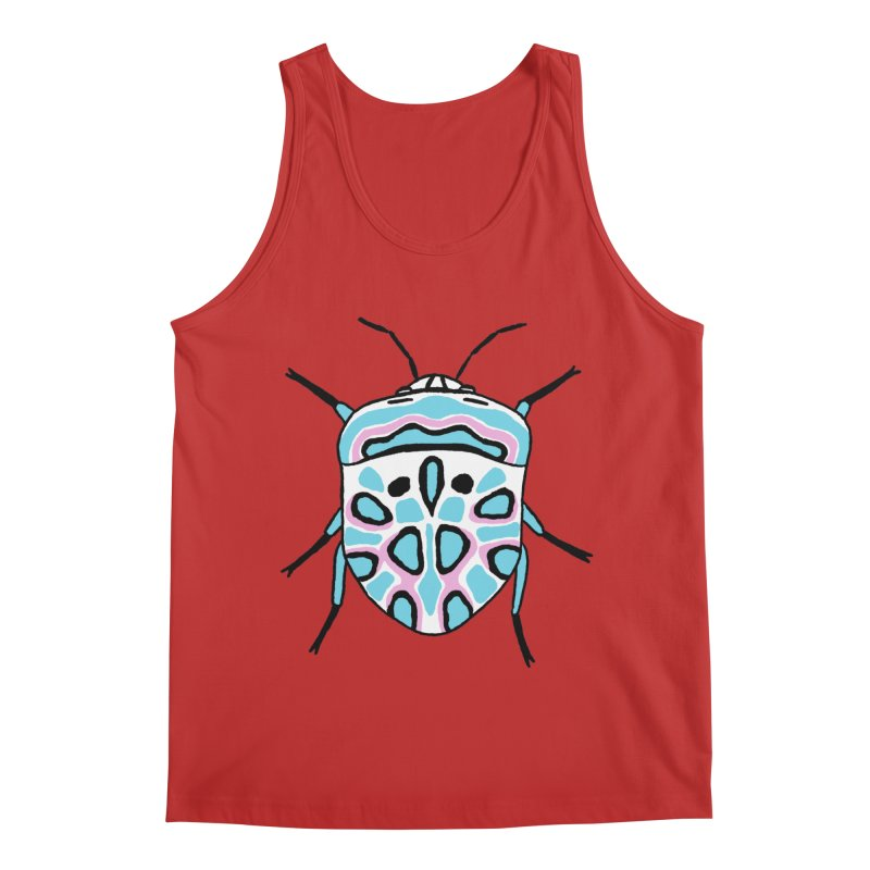Picasso Bug Men's Regular Tank by sand paper octopi's Artist Shop