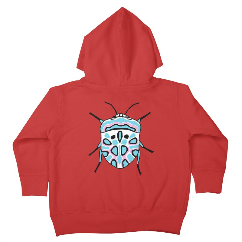 Picasso Bug Kids Toddler Zip-Up Hoody by sand paper octopi's Artist Shop