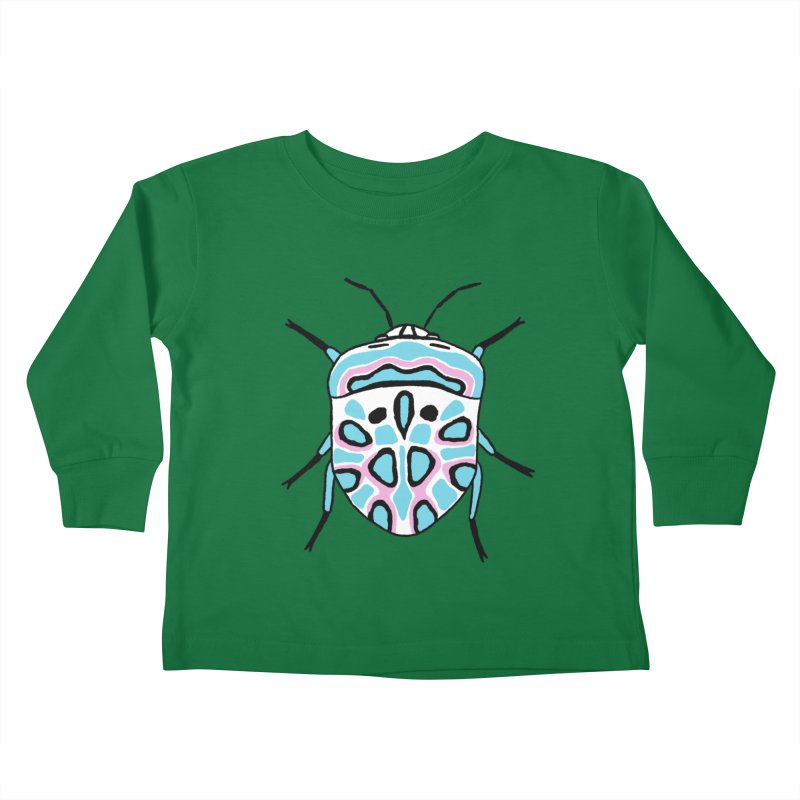 Picasso Bug Kids Toddler Longsleeve T-Shirt by sand paper octopi's Artist Shop