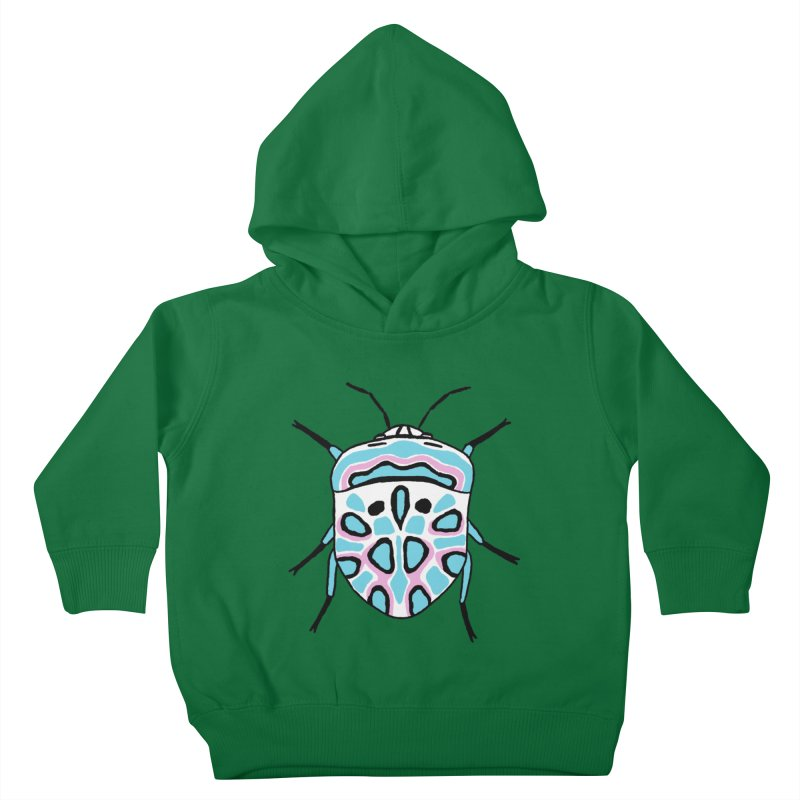 Picasso Bug Kids Toddler Pullover Hoody by sand paper octopi's Artist Shop