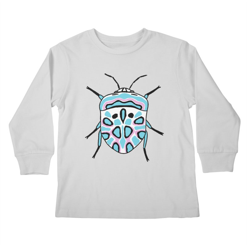Picasso Bug Kids Longsleeve T-Shirt by sand paper octopi's Artist Shop