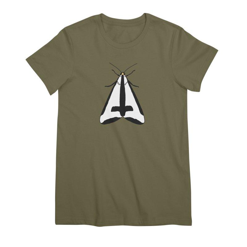 Clymene Moth Women's Premium T-Shirt by sand paper octopi's Artist Shop