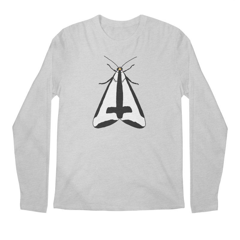 Clymene Moth Men's Regular Longsleeve T-Shirt by sand paper octopi's Artist Shop