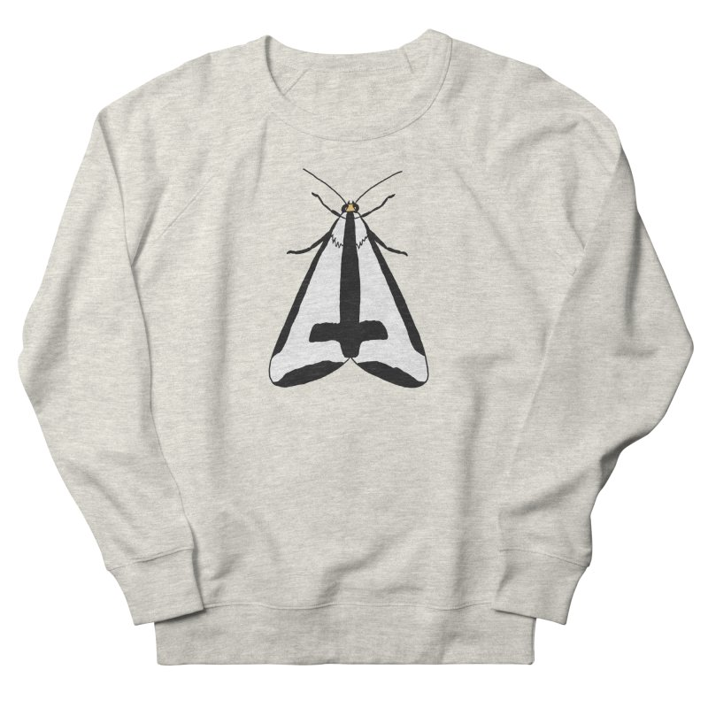 Clymene Moth Women's French Terry Sweatshirt by sand paper octopi's Artist Shop