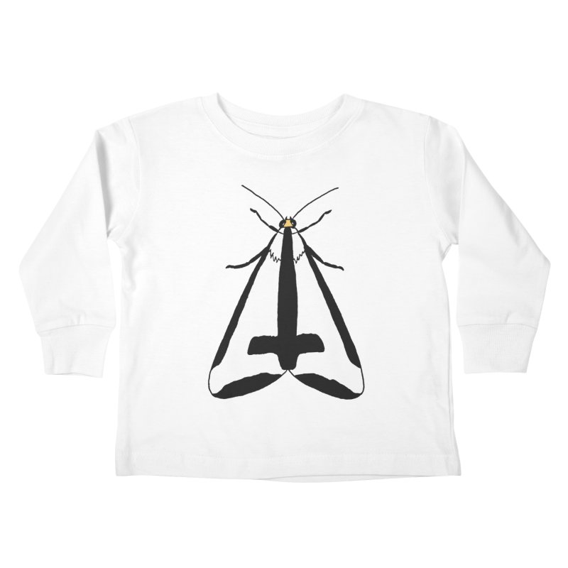 Clymene Moth Kids Toddler Longsleeve T-Shirt by sand paper octopi's Artist Shop