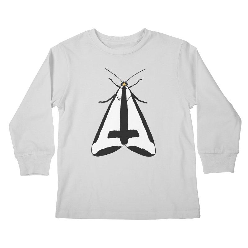 Clymene Moth Kids Longsleeve T-Shirt by sand paper octopi's Artist Shop