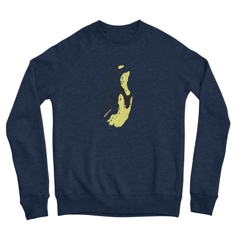 Western Meadowlark Men's Sweatshirt by sand paper octopi's Artist Shop