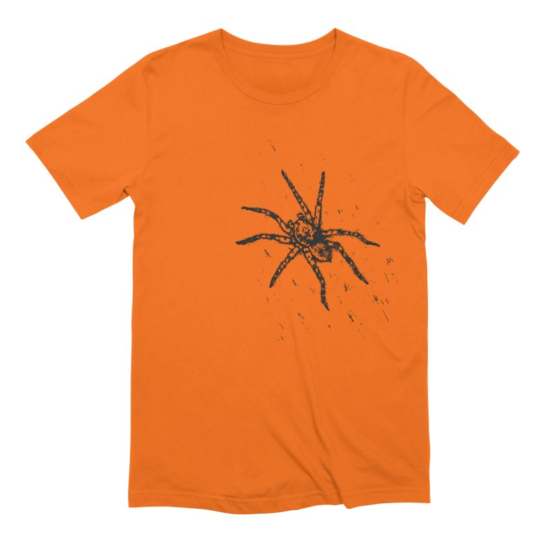 Wolf Spider Men's Extra Soft T-Shirt by sand paper octopi's Artist Shop