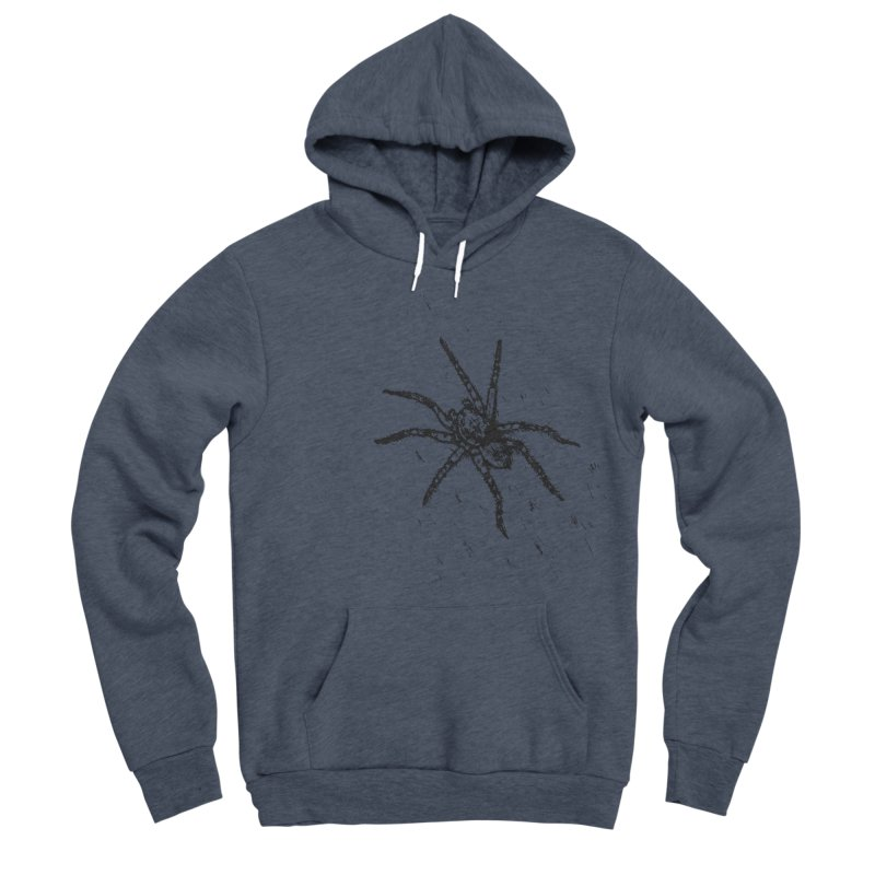 Wolf Spider Men's Sponge Fleece Pullover Hoody by sand paper octopi's Artist Shop