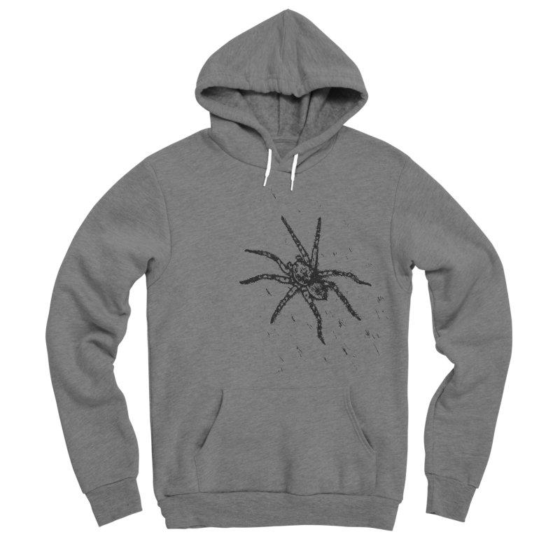 Wolf Spider Women's Sponge Fleece Pullover Hoody by sand paper octopi's Artist Shop