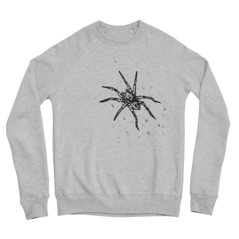 Wolf Spider Men's Sweatshirt by sand paper octopi's Artist Shop