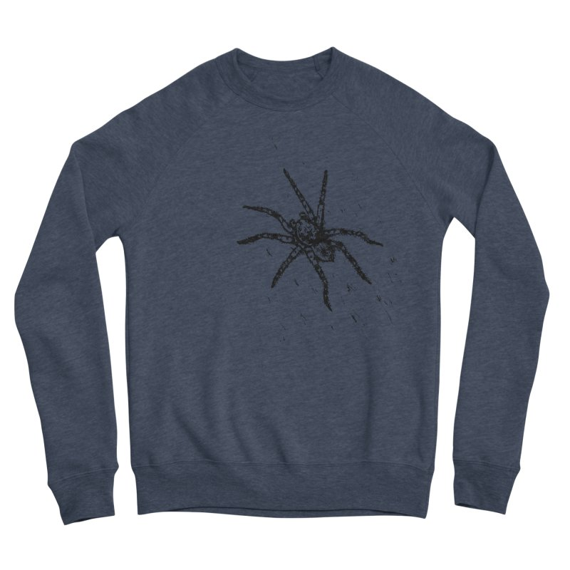 Wolf Spider Men's Sponge Fleece Sweatshirt by sand paper octopi's Artist Shop