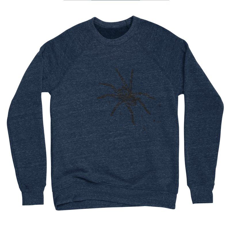Wolf Spider Men's Sponge Fleece Sweatshirt by sand paper octopi's Artist Shop