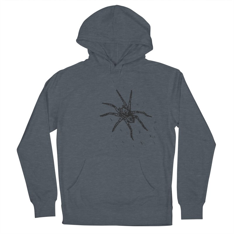 Wolf Spider Women's French Terry Pullover Hoody by sand paper octopi's Artist Shop