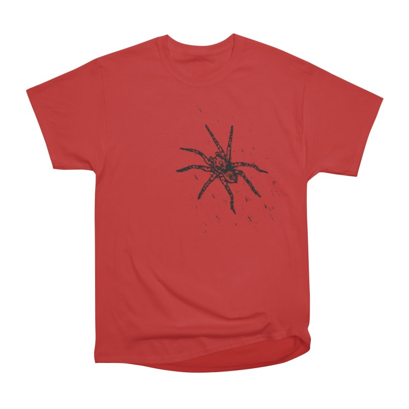 Wolf Spider Men's Heavyweight T-Shirt by sand paper octopi's Artist Shop