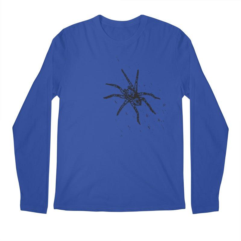 Wolf Spider Men's Regular Longsleeve T-Shirt by sand paper octopi's Artist Shop