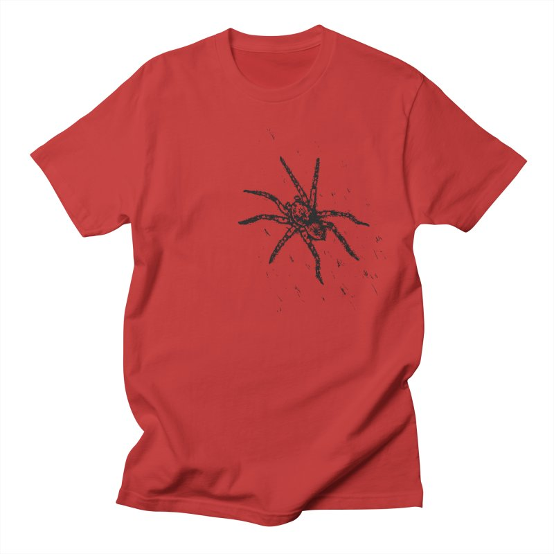 Wolf Spider Women's Regular Unisex T-Shirt by sand paper octopi's Artist Shop