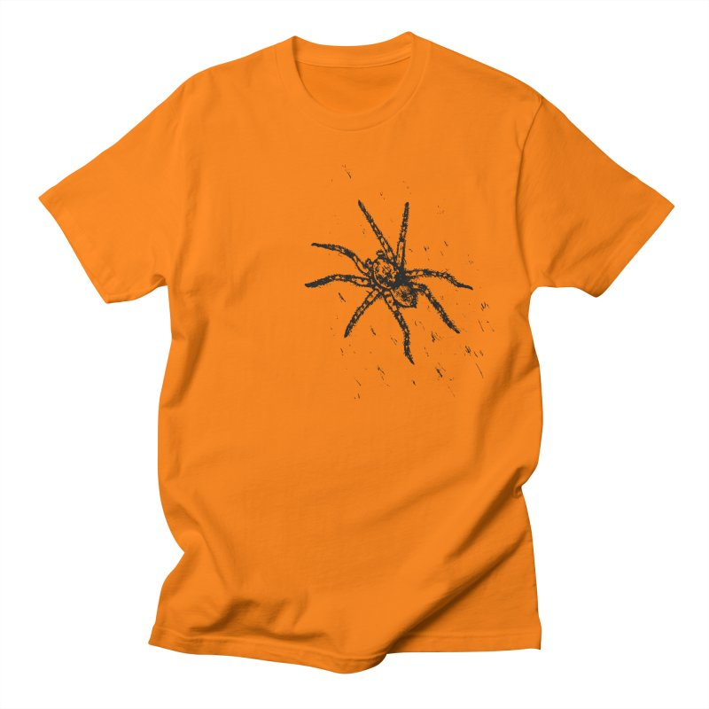Wolf Spider Men's Regular T-Shirt by sand paper octopi's Artist Shop
