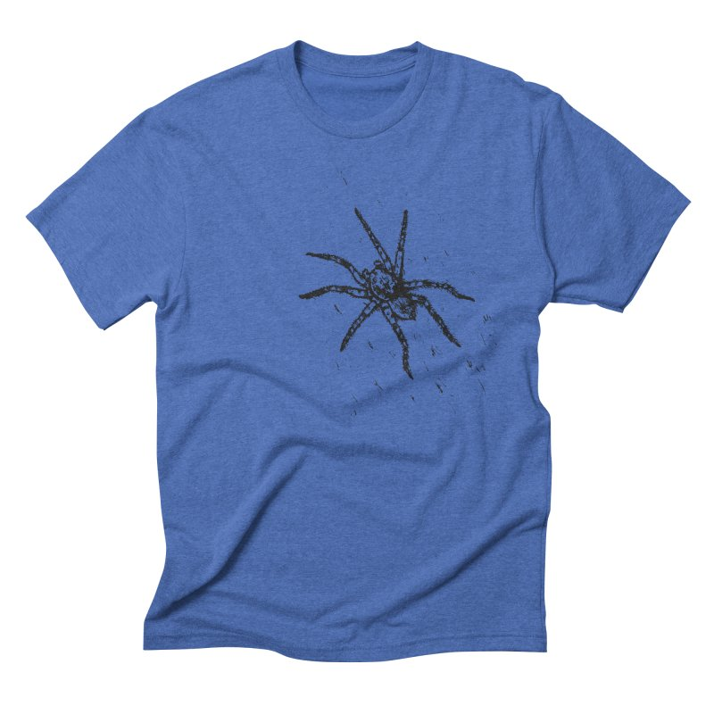 Wolf Spider Men's T-Shirt by sand paper octopi's Artist Shop