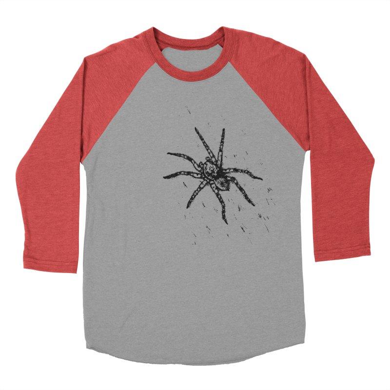 Wolf Spider Women's Baseball Triblend Longsleeve T-Shirt by sand paper octopi's Artist Shop