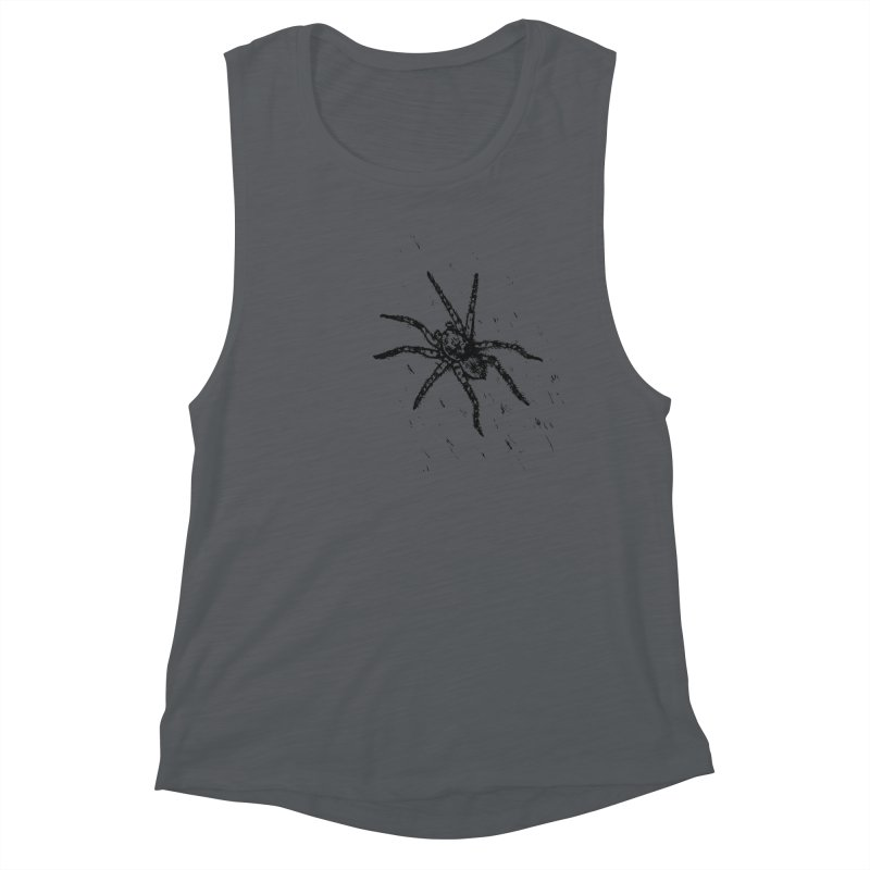 Wolf Spider Women's Tank by sand paper octopi's Artist Shop