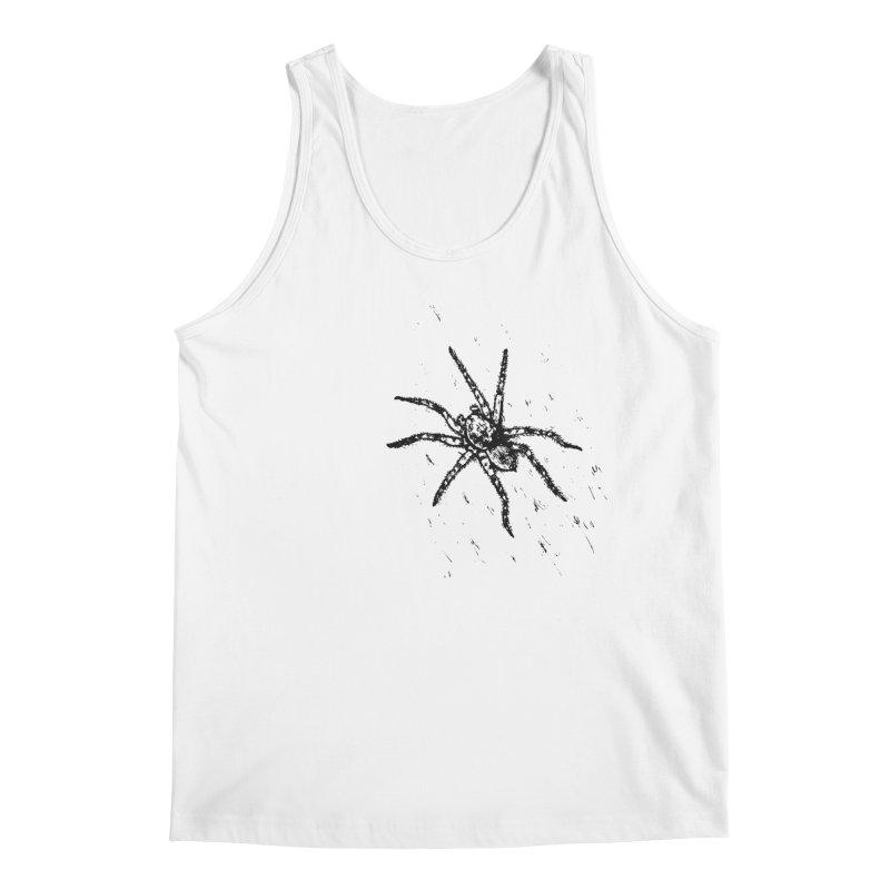 Wolf Spider Men's Tank by sand paper octopi's Artist Shop
