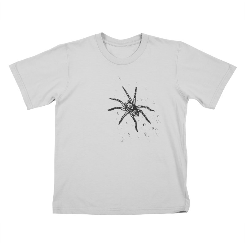 Wolf Spider Kids T-Shirt by sand paper octopi's Artist Shop