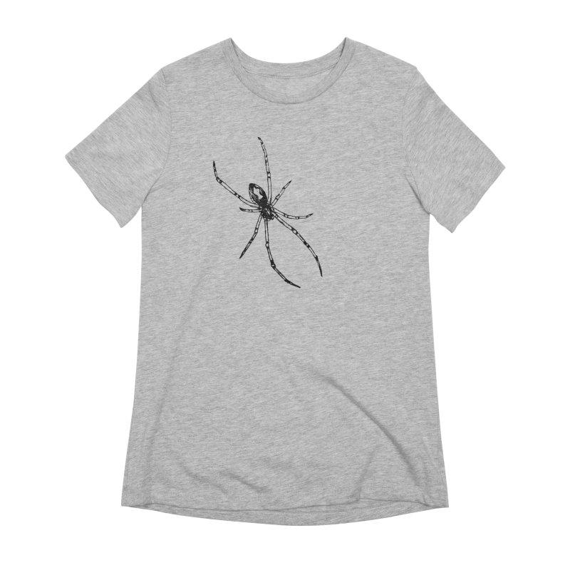 Brown Widow Women's Extra Soft T-Shirt by sand paper octopi's Artist Shop