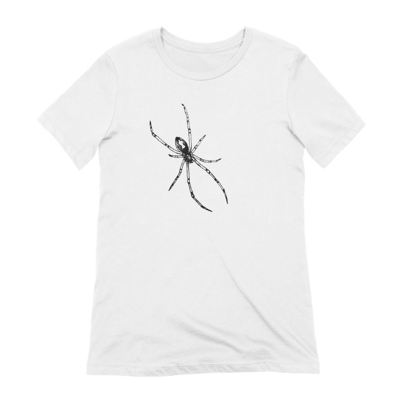 Brown Widow Women's Extra Soft T-Shirt by sand paper octopi's Artist Shop