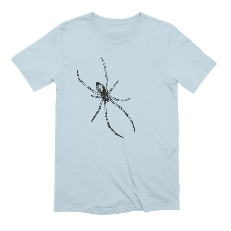 Brown Widow Men's Extra Soft T-Shirt by sand paper octopi's Artist Shop